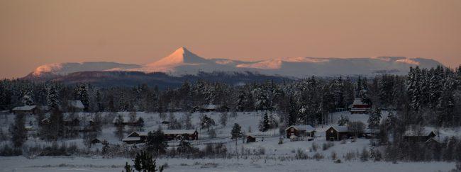 De Städjan vanuit Särna een jaar geleden